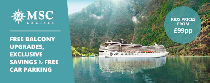 MSC Cruises From Southampton With IgluCruisecom IgluCruise - Southampton cruise ship parking