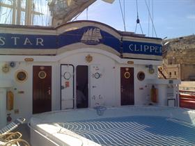 Star Clipper's main pool