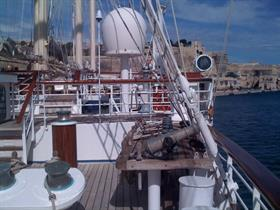 Star Clipper's deck