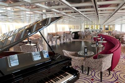 The Charleston Lounge  on the Aegean Odissey is a live music venue