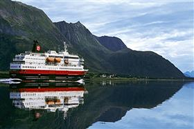 MS Richard With by Hurtigruten, exterior