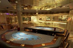Seabourn Quest's Casino, on deck 5