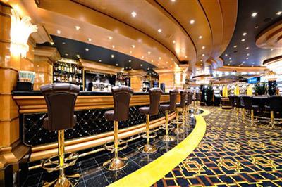 The Casino on MSC Bellissima