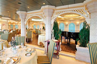 Le Muse Restaurant, the flexiblel dining venue on the MSC Bellissima