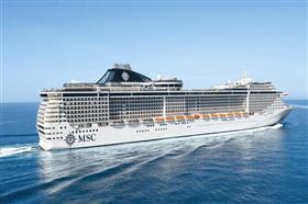 MSC Divina, exterior, starboard side