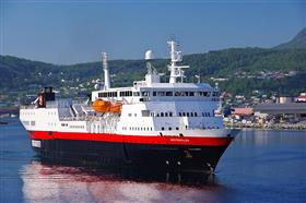 Hurtigruten's MS Vesteralen, exterior