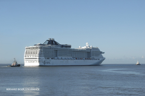 MSC Divina's Christening To Involve UNICEF