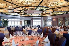 The Waldorf Restaurant, Marco Polo's main dining room