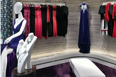 Corner of a store on the Avenue of Stars, the 3,000 square foot shopping arcade on Crystal Serenity
