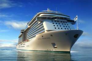 Regal Princess To Follow In Royal Princess' Footsteps
