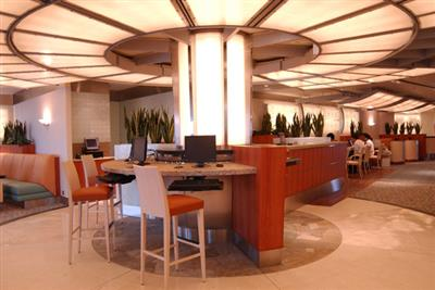 Crown Princess internet café