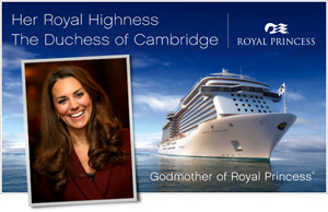 Duchess of Cambridge Kate Middleton Announced as Royal Princess Godmother