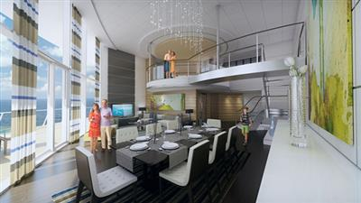 The Royal Loft Suite  on Quantum of the Seas by Royal Caribbean