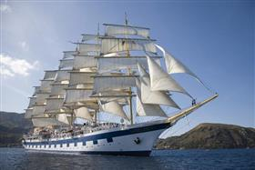 Royal Clipper, exterior