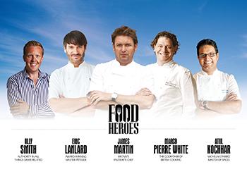 P&O Reveal 'Food Heroes' For New Ship Britannia