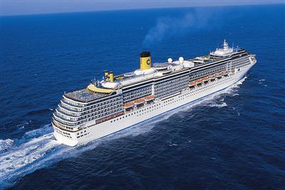 Costa Atlantica, stern perspective
