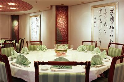 Silk Road, the Asian specialty restaurant on Crystal Serenity