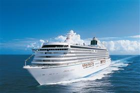 Crystal Serenity, external, bow  view