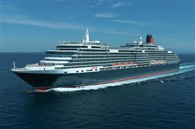 Cunard's Queen Victoria, exterior