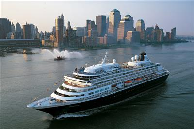 MS Prinsendam by Holland America Line,  exterior