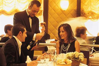 MSC Opera's formal dinner