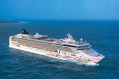 Norwegian Star by NCL, exterior