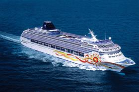 Norwegian Sun by  NCL, exterior