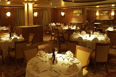 Santa Fe dining Room  on the Fiesta Deck of the Diamond Princess