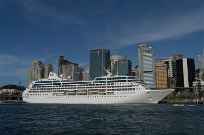 Pacific  Princess by Princess Cruises, exterior