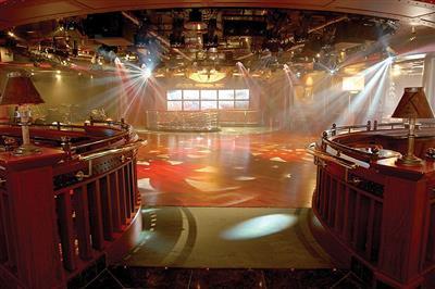 The Princess Theatre on Sapphire Princess (Promenade and Fiesta  decks)