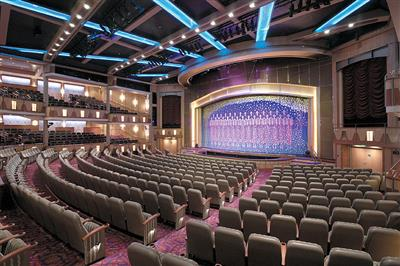 The art deco style Royal Theatre can seat 1362 guests