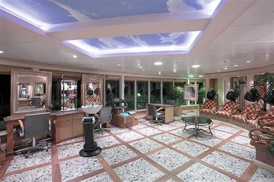 The Beauty Salon on the Explorer of the Seas