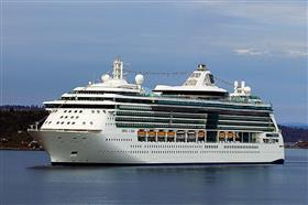 Jewel of the Seas by Royal Caribbean, exterior