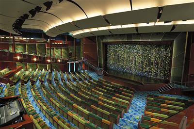 The Tropical Theatre on the Serenade of the Seas