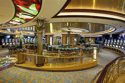 Casino Royale, over 200 slots and card games on deck 6 of the Serenade of the Seas