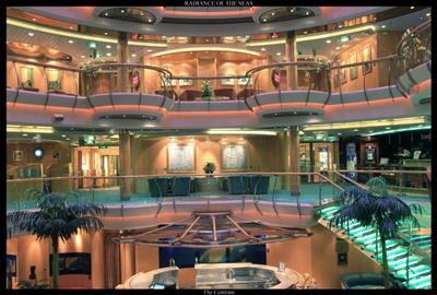 The Atrium on Radiance of the Seas by Royal Caribbean