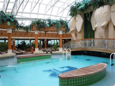 The Solarium pool on deck 11