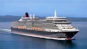Queen Elizabeth by Cunard, exterior