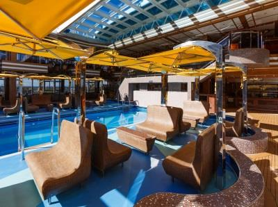 Another corner of Lido Diana, the outdoor pool area on Costa Diadema