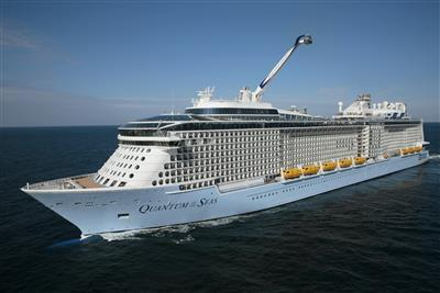 Quantum of the Seas by Royal Caribbean, exterior