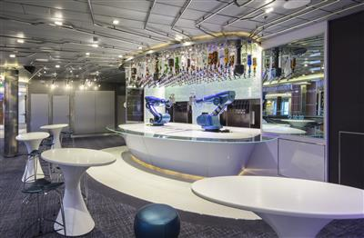 The Bionic Bar on Quantum of the Seas by Royal Caribbean