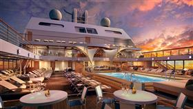 Evening on deck!  Everything's ready for another exciting evening on the Seabourn Encore
