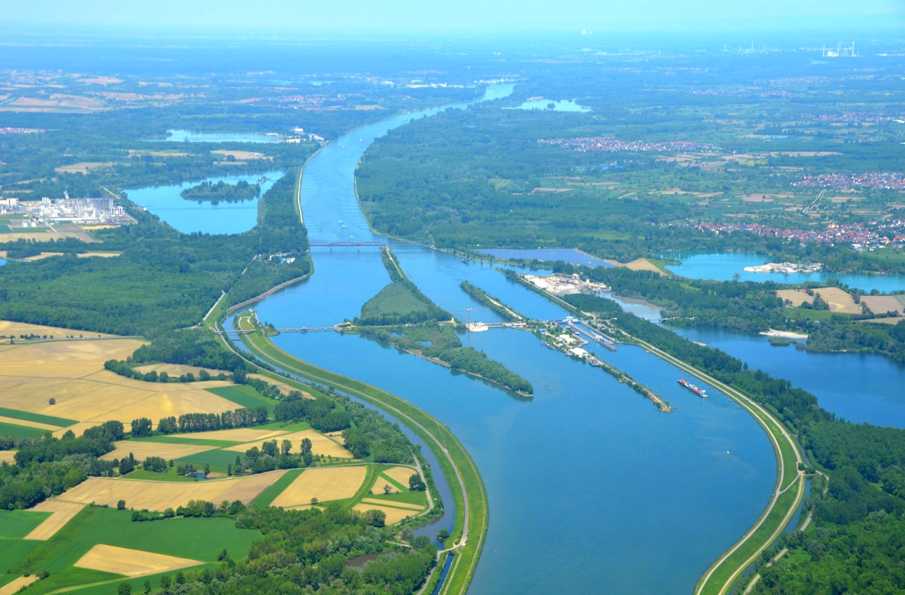 Rhine Franco-German border