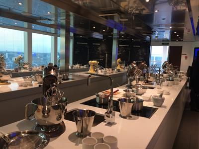 P&O's Britannia also has a Cookery School on board