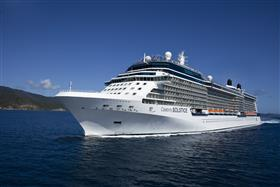 Celebrity Solstice, external sho while sailing