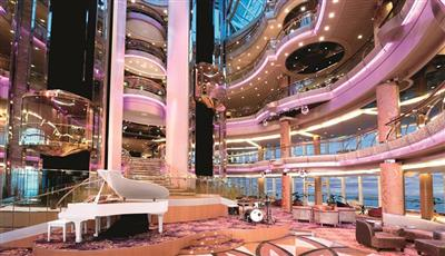 The Atrium of Marella's Marella Discovery