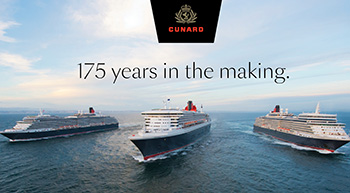 Cunard's Three Queen Liverpool Salute
