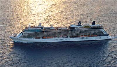 Celebrity Eclipse,  lateral shot.