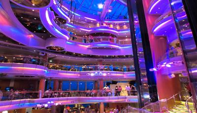 Vision of the Seas'  main atrium
