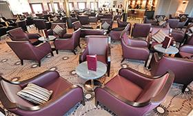 Scott's Lounge, the main entertainment lounge on the MV Voyager